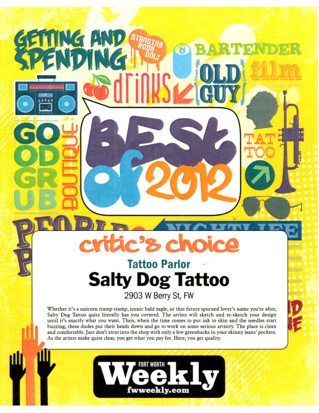 Salty Dog Tattoo Awards