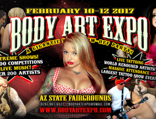 February 9 -11 Arizona Body Art Expo – Was a Success!