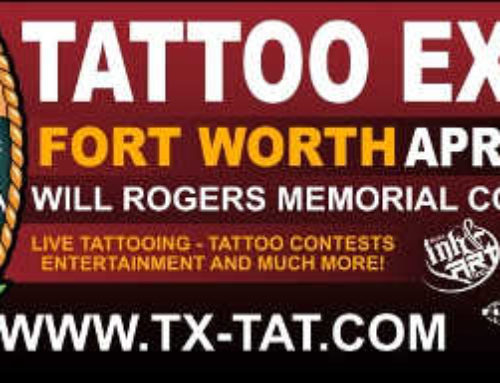 Texas Ink & Art Expo-Fort Worth, Texas April7-9th 2017